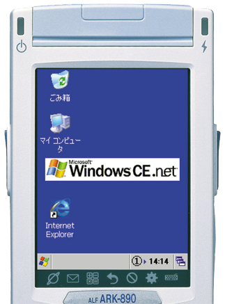 Windows CE.NET 4.2搭載